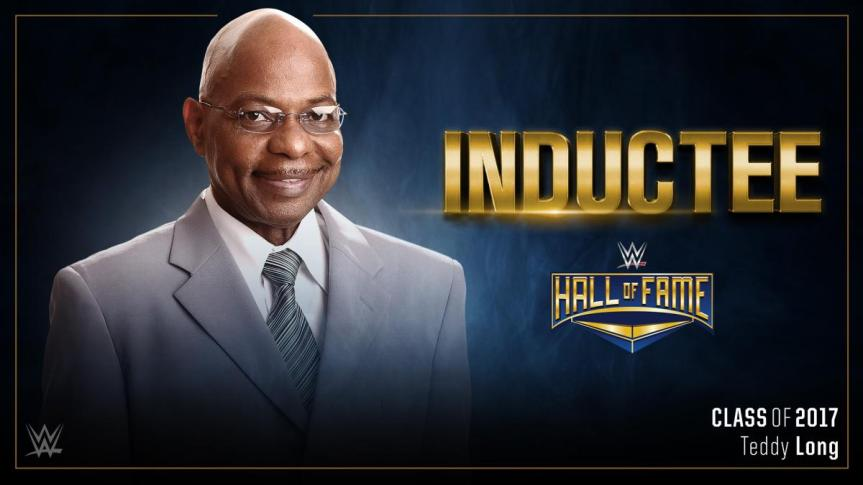 """""""Holla, holla, holla playa!"""" Teddy Long is Heading to the WWE Hall of Fame2017."""
