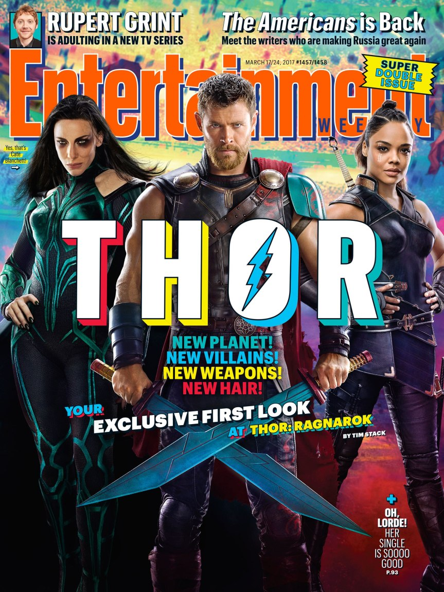Thor: Ragnarok First Images Appear Courtesy of EW, & Check Out Who Got Himself A Haircut