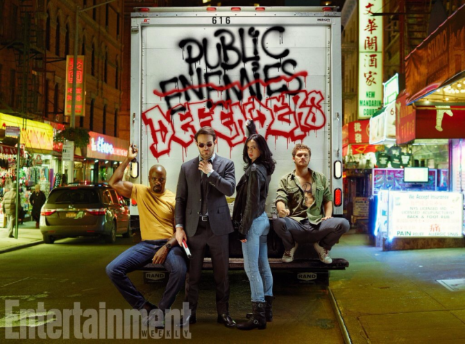 Four Misfits, One City. Can the Big Apple Handle the Combined Efforts of the Defenders?