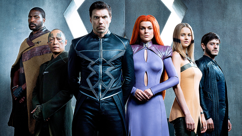 The Inhumans Have Arrived. Marvel Attempt Their Biggest Challenge…an IMAX TV Series That Starts inCinemas