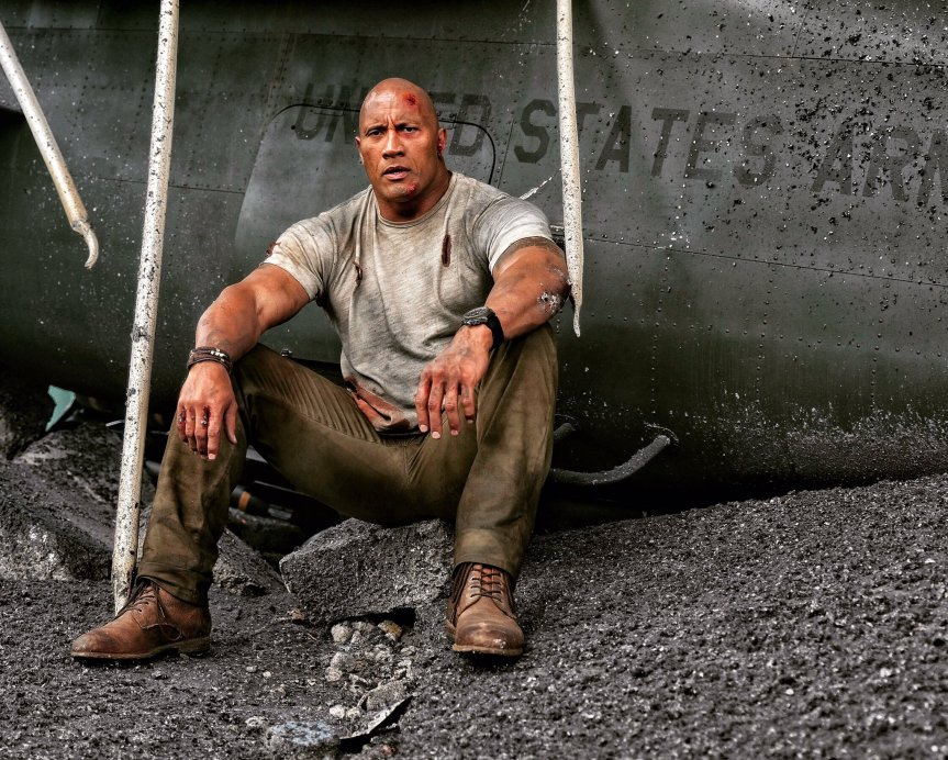 The Rock's Going on a Rampage. Twitter Followers Get an Exclusive Set Photo.