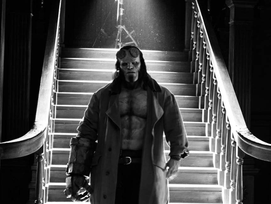 BRING ON THE BLOOD QUEEN! David Harbour Looks Ready For a Fight in Hellboy Reboot Images