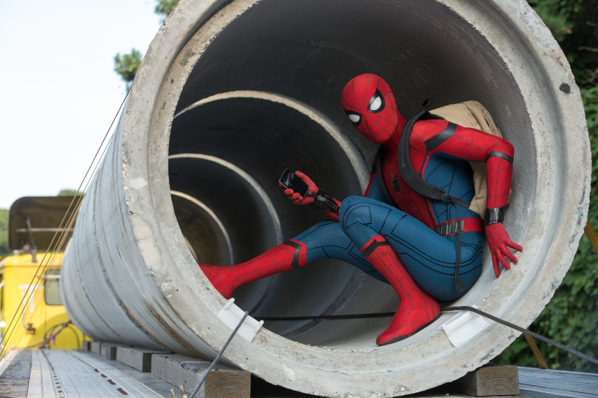 Spider-Man Swings Into Action in Marvel Studios' Homecoming, with Tom Holland Doing Justice to the Web-Head