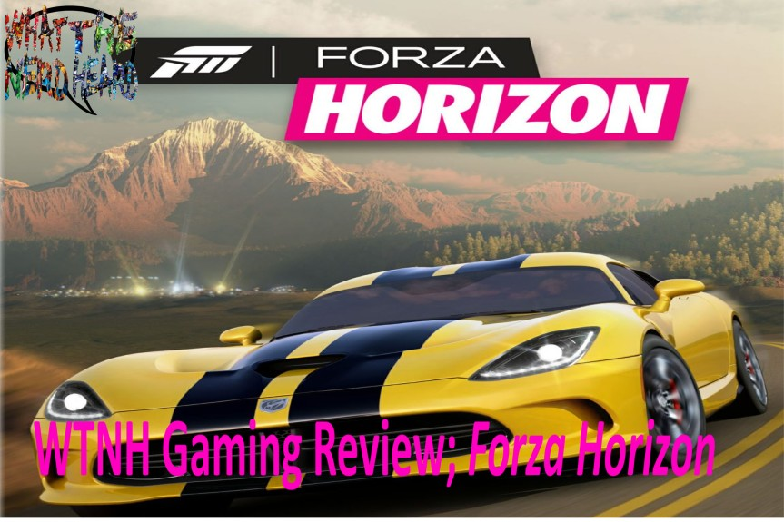 Wright Wrecommendation; ForzaHorizon