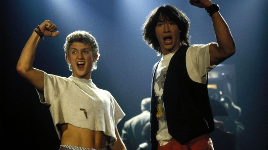 """Party On Guys!"" Keanu Reeves Has Some EXCELLENT News For Bill & Ted Fans – NYCC Fallout"