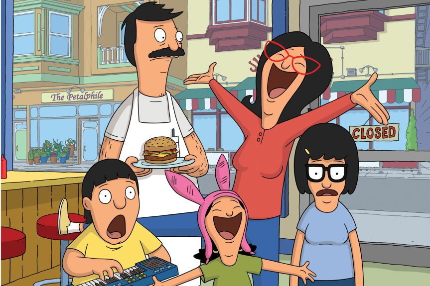 Bob Belcher Will Be Serving Up Feature Length Movie Burgers. That's Gonna Need A Lotta Ketchup!