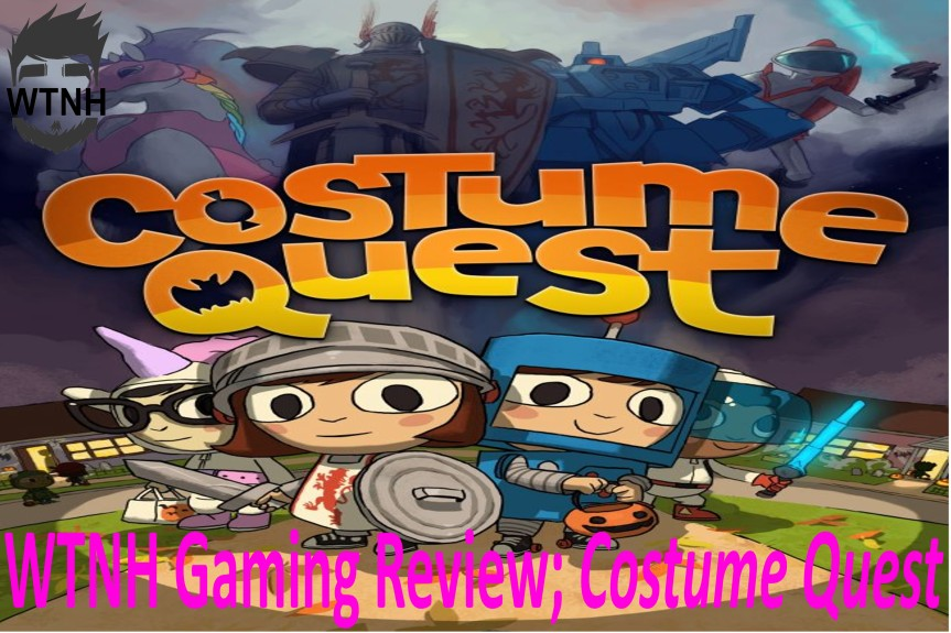 Wright Wrecommendation; CostumeQuest