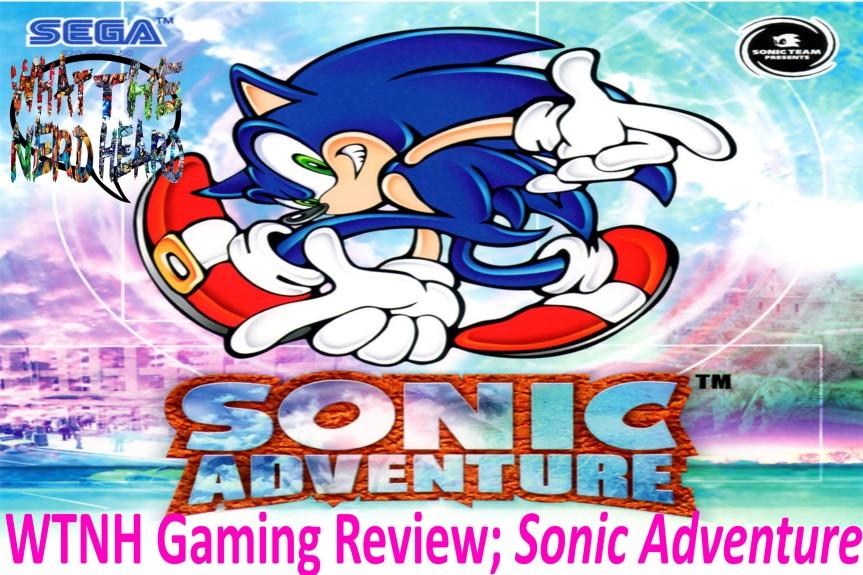 Wright Wrecommendation; SonicAdventure