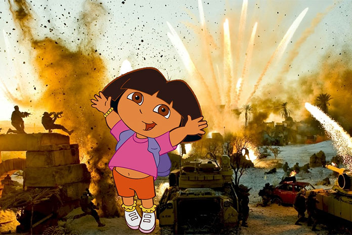 "How Do You Say ""Explosion"" in Spanish? Michael Bay to Produce Dora the Explorer Movie"