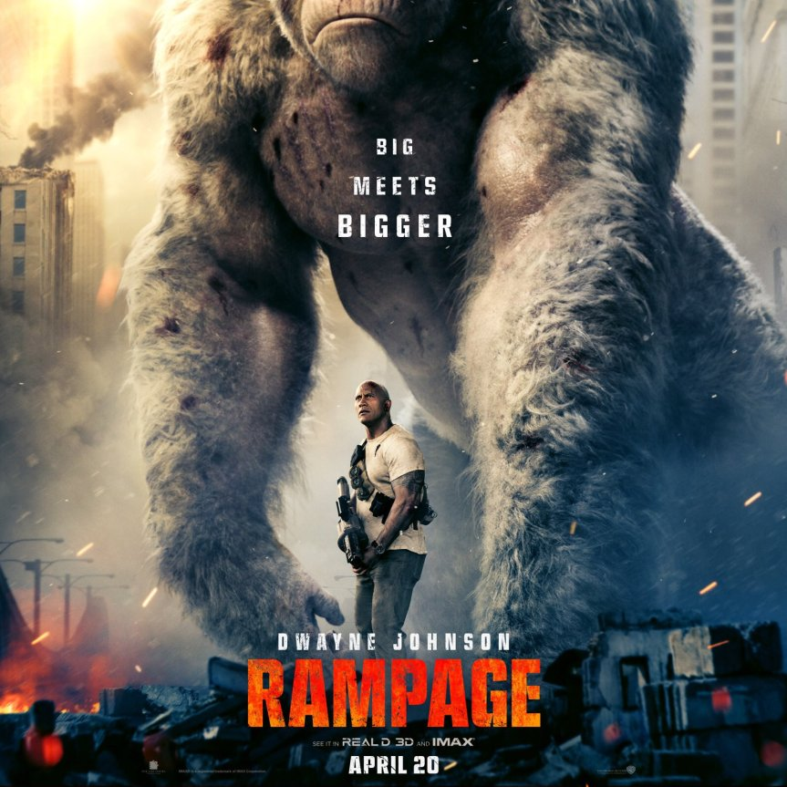 The Rock and Co. Go On a Rampage in FirstTrailer