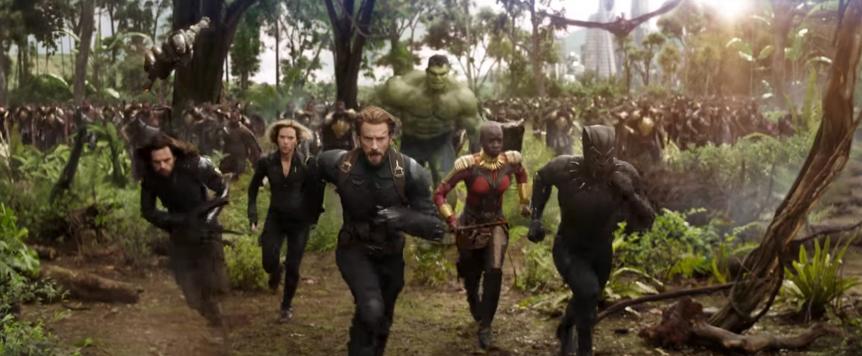 Super Bowl LII Part 3; Avengers: Infinity WarTrailer