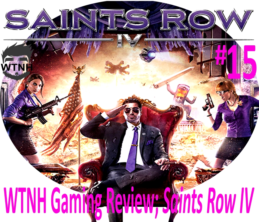 Wright Wrecommendation; Saints RowIV