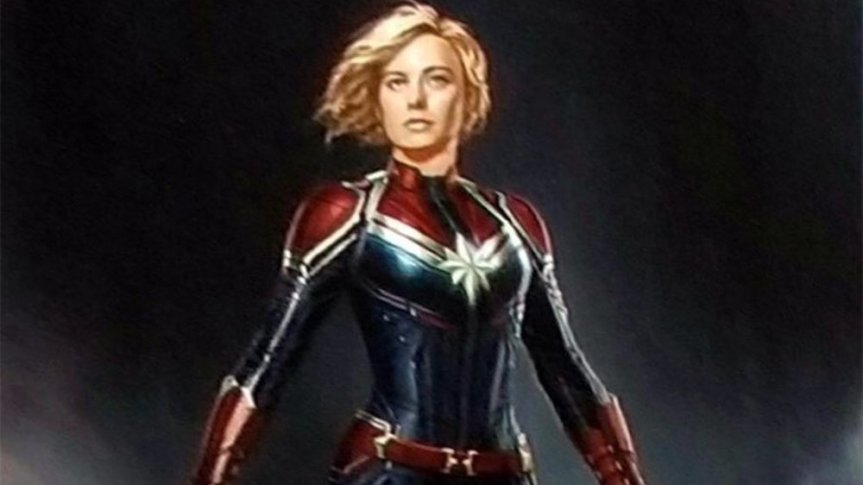 Set Photos Reveal Something About Brie Larson's Captain Marvel