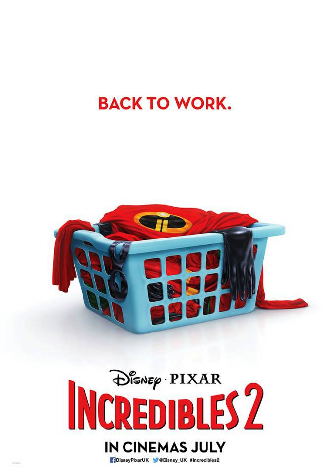 The Incredibles 2 Deal With a New Threat in 1st Teaser Trailer