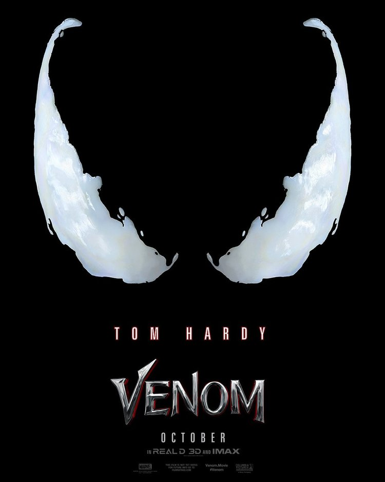 The 1st Venom Movie Trailer is Here.
