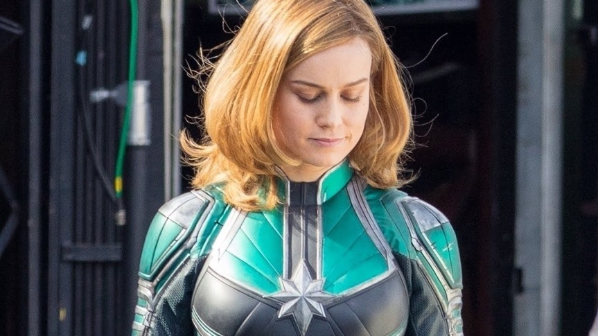 Brie Larson Looks to Take the MCU Back to the'90s.