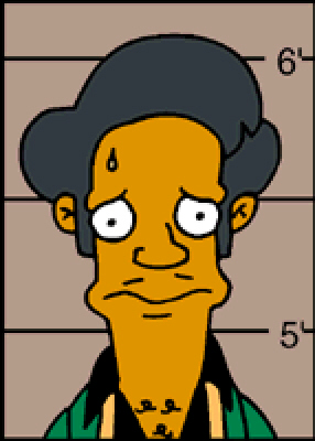 Apu Has Just Got The Simpsons into Some Deep Trouble