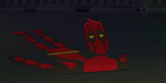 Deadpool Animated Flattened
