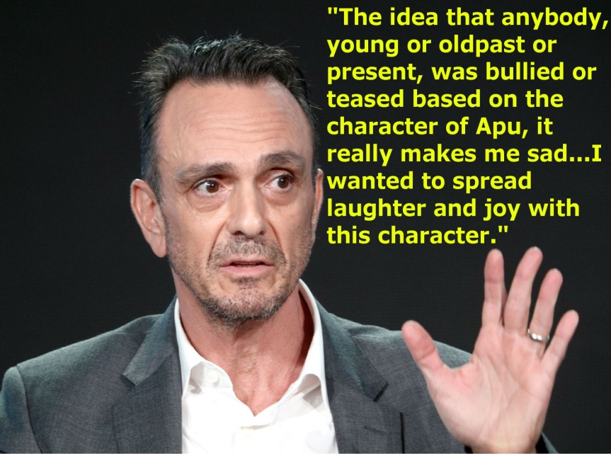 Hank Azaria Weighs in on the Problem With ApuDebate