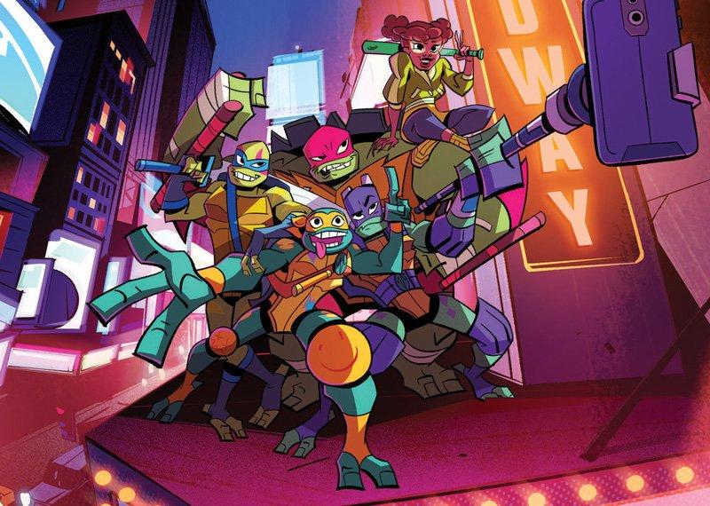 The First Rise of the Teenage Mutant Ninja Turtles Teaser Trailer Showcases the RevampedHeroes