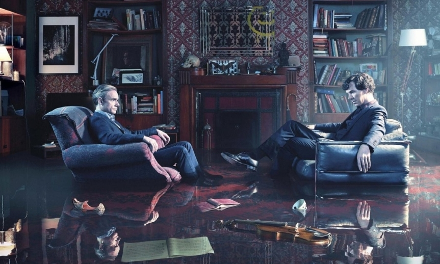 Benedict Cumberbatch and Martin Freeman's Feud Could Mean the End for Sherlock