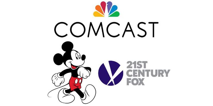 The Disney/Fox Merger Hits A Comcast Shaped Roadblock