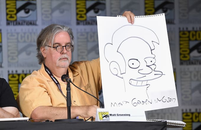 What Did Matt Groening Have to Say About the Problem With Apu?