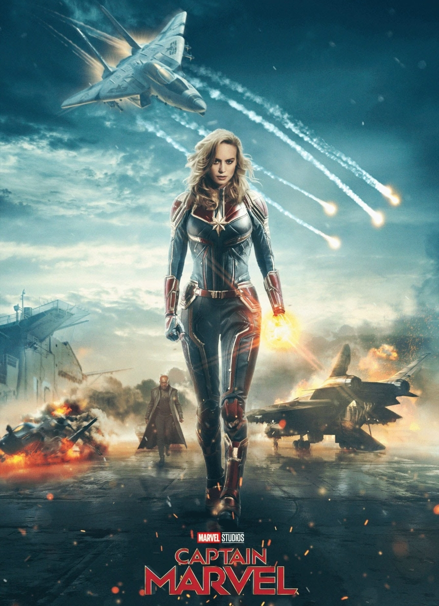 Brie Larson Will Be the Face of the MCU When She Premieres as Captain Marvel