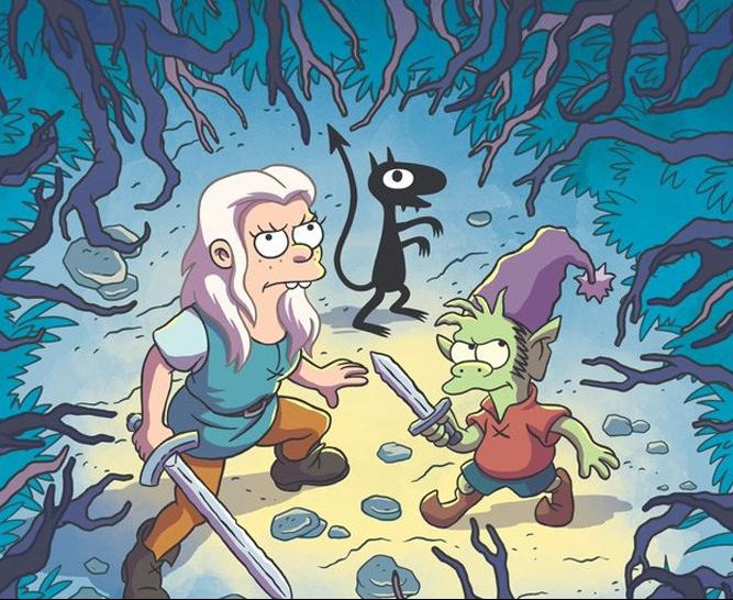 Matt Groening's Disenchantment is Headed toNetflix