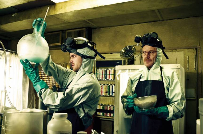 Join Aaron Paul and Bryan Cranston in a Chance to Cook in Breaking Bad's RV