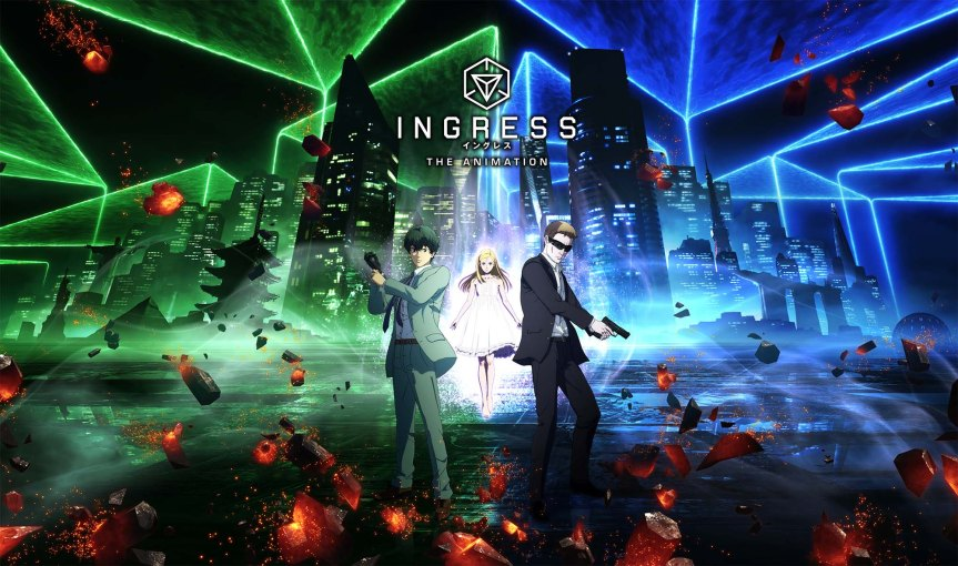 Ingress: The Animation is Headed to Netflix, With a Sequel Game in Tow
