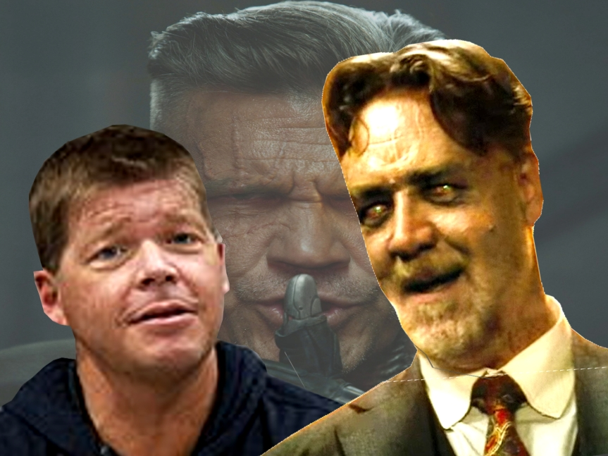 "Rob Liefeld ""Insults"" Russell Crowe with Deadpool 2 Cable Reading Offer"